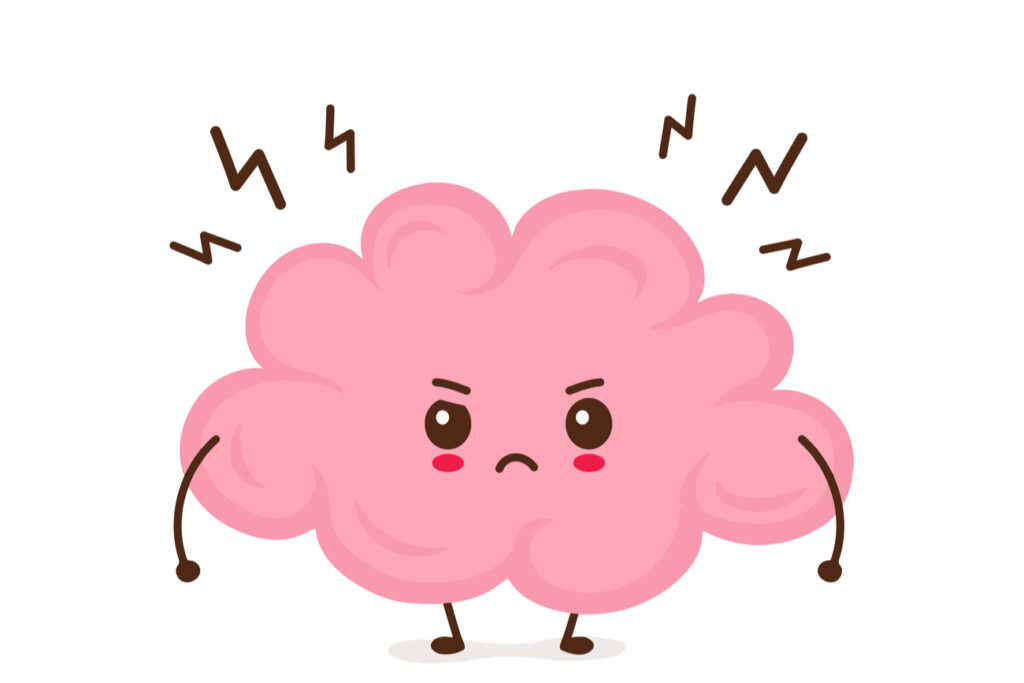 Brain under Stress Graphic