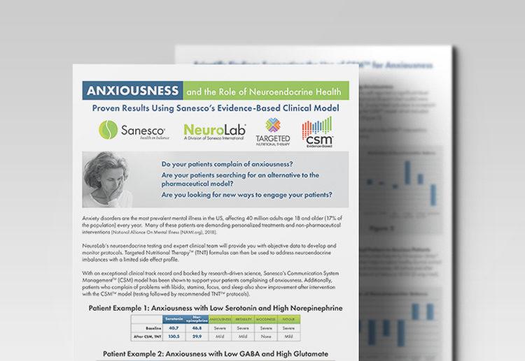 Anxiousness Monograph