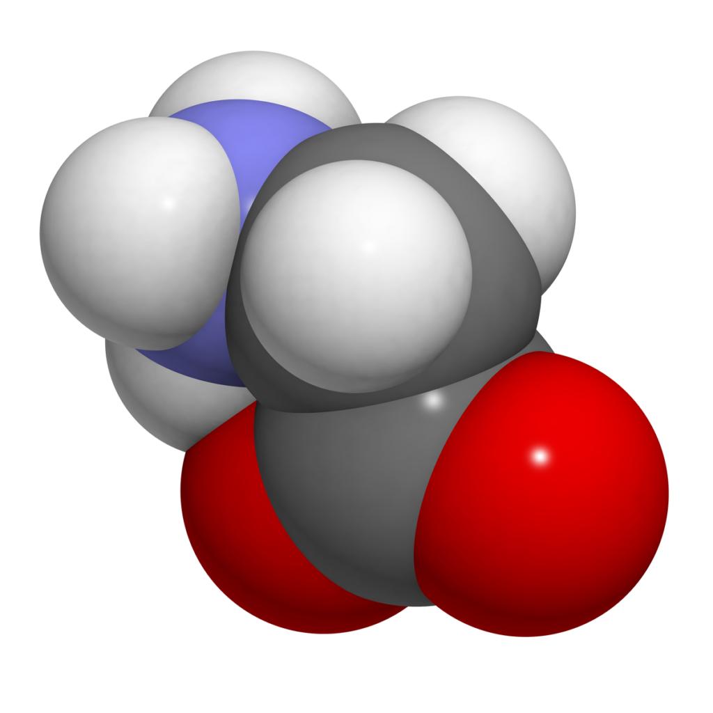 Glycine Molecule