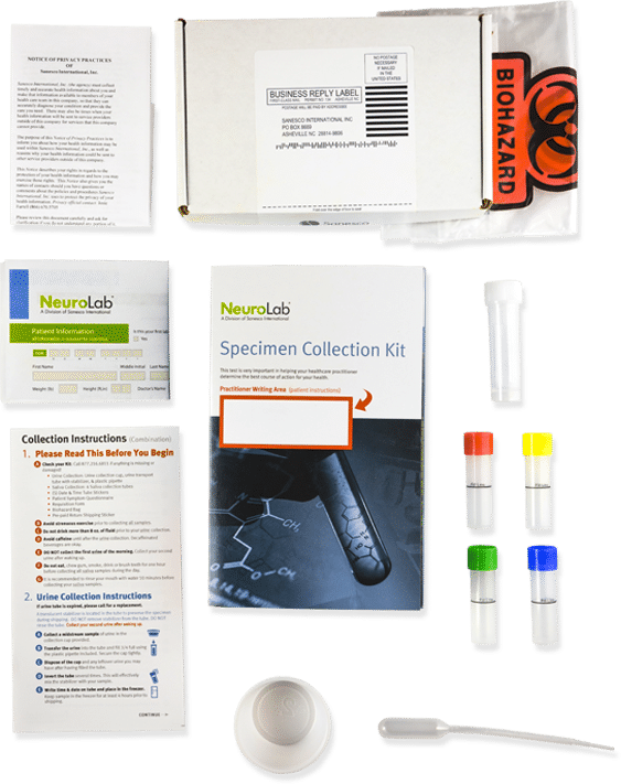 NeuroLab specimen collection kit