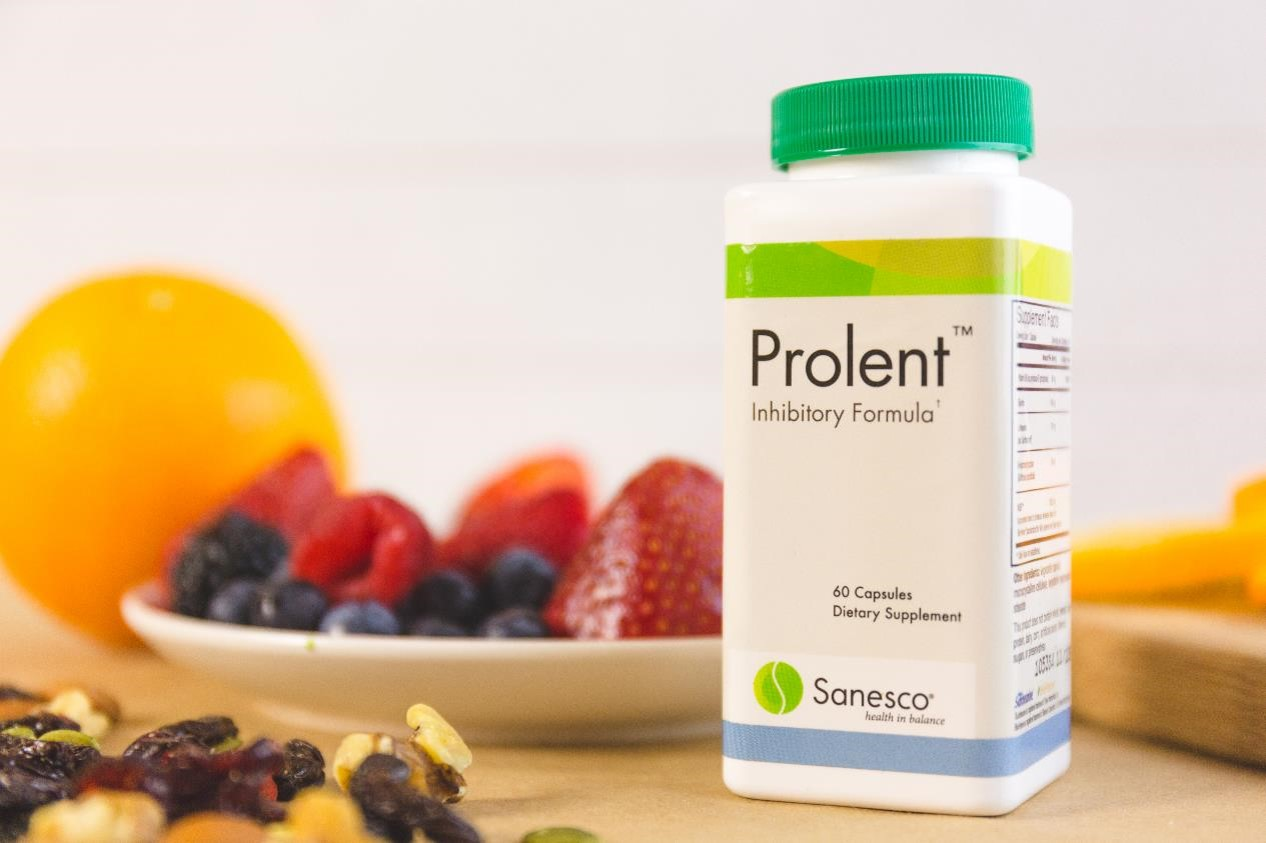Prolent- inhibitory and serotonin support